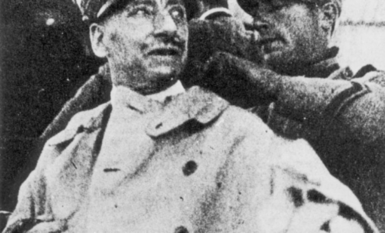 Giacomo Basso senior con Gabriele d'Annunzio