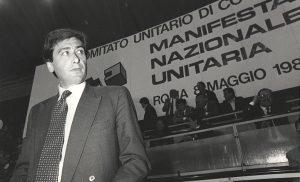 Il Presidente Giacomo Basso durante un comitato unitario di coordinamento
