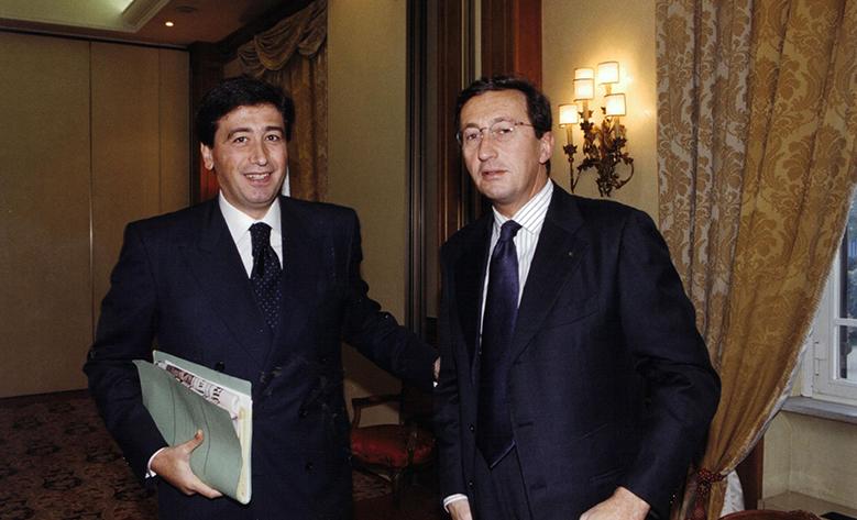 Il Presidente Giacomo Basso incontra Gianfranco Fini