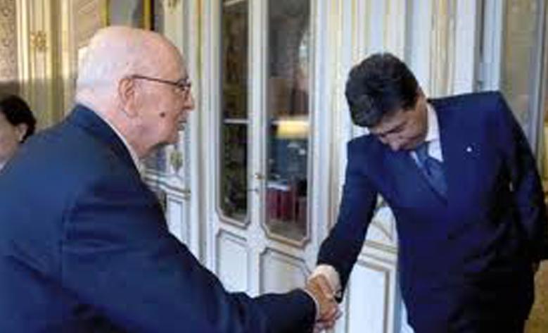 Il Presidente Antonio Napolitano e Giacomo Basso, Presidente di Casartigiani