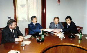 Giacomo Basso Presidente Casartigiani con Massimo D'Alema