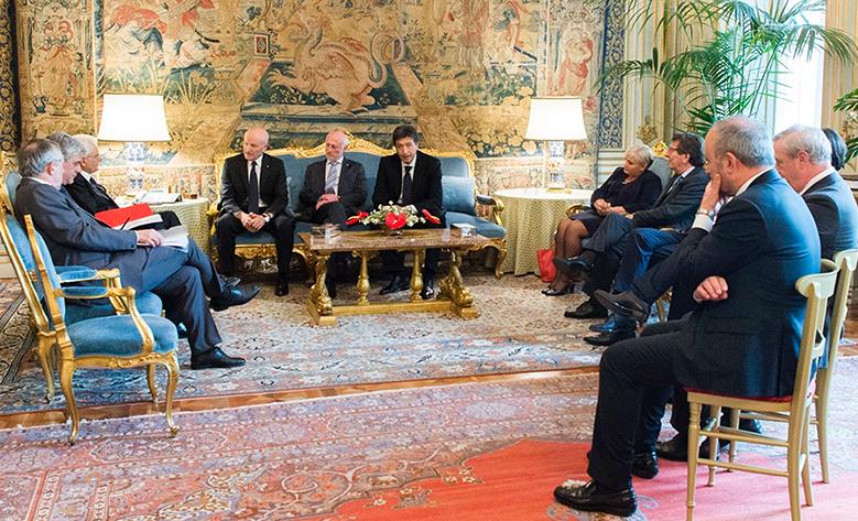 Il Presidente di Casartigiani, Giacomo Basso, incontra il Presidente Mattarella